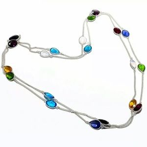 SS 925 Necklace Long